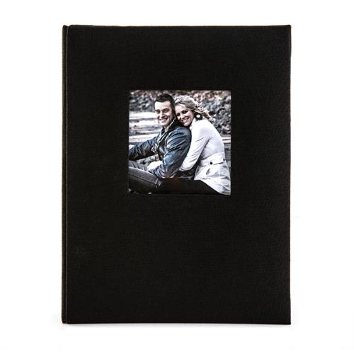 Kenro Aztec Mini Album 36 6x4' Black