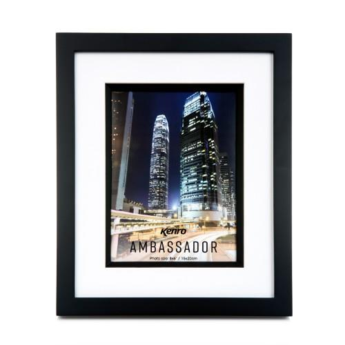 Kenro Ambassador Photo Frame 6X4 (10x15cm) - Black