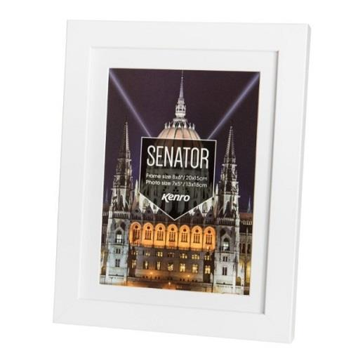 Kenro Senator Photo Frame 8x6 (15x20cm) - White