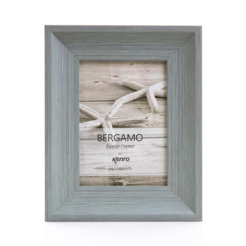 Kenro Bergamo Photo Frame 8x6 (15x20cm) Rustic Grey