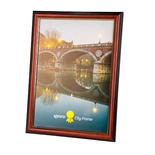 Kenro City Photo Frame A4 - Brown