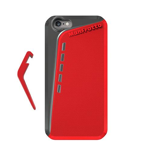 Manfrotto Klyp Plus Red Case for iPhone 6 with Kickstand