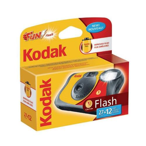 Kodak Fun Flash Single Use Camera with 27 Exposures plus 12 Free
