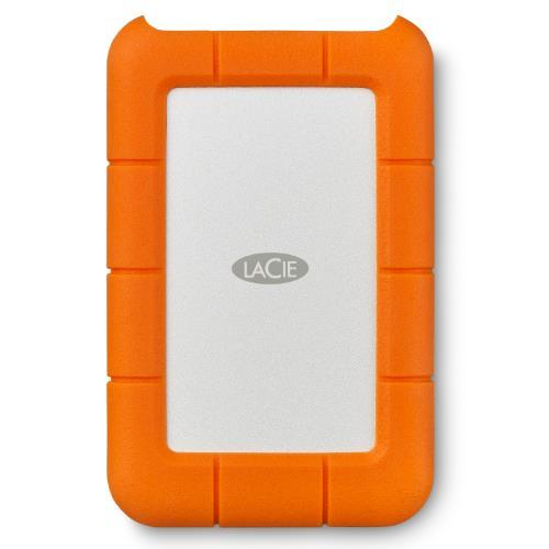 LaCie Rugged USB-C 2 TB External HDD - USB 3.1 Gen 1 - USB-C