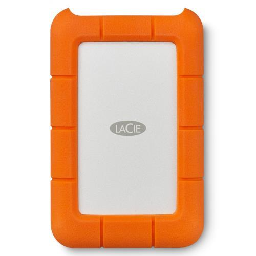LaCie Rugged USB-C 4 TB External HDD - USB 3.1 Gen 1 - USB-C