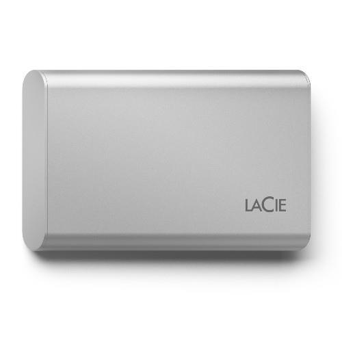 LaCie Portable SSD V2 500GB External SSD - USB-C