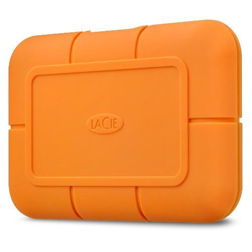 LaCie Rugged SSD 500GB External SSD - USB 3.1 Gen 2- USB-C