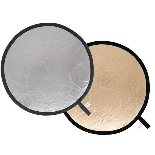 Lastolite Collapsible Reflector 30cm in Sunfire/Silver