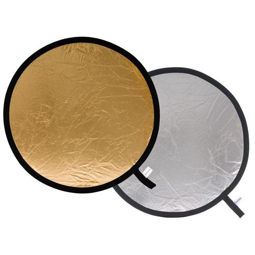 Lastolite Collapsible Reflector 75cm in Silver/Gold