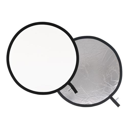 Lastolite Collapsible Reflector 95cm in Silver/White