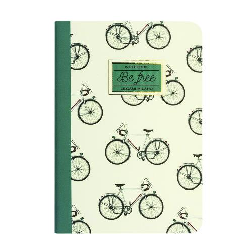 Legami Quaderno A5 Lined Bike Journal