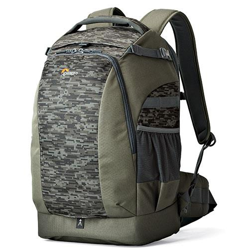Lowepro Flipside 500 AW II Backpack in Pixel Camo