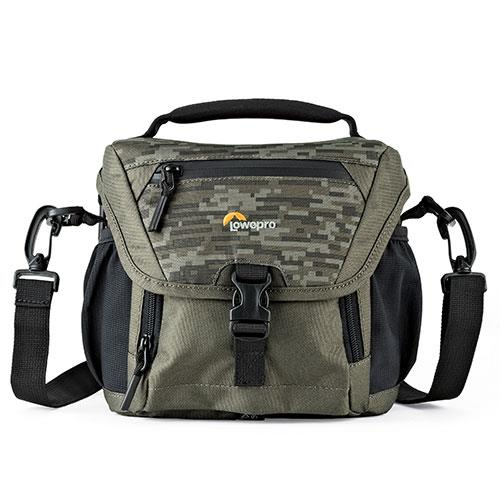 Lowepro Nova 140 AW II Bag in Pixel Camo