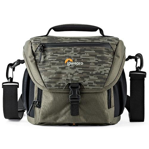 Lowepro Nova 170 AW II Bag in Pixel Camo