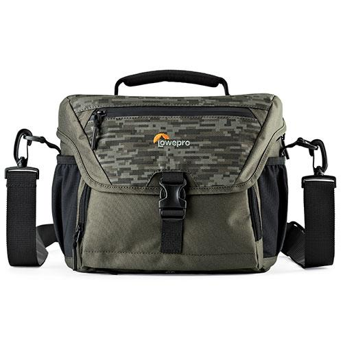 Lowepro Nova 180 AW II Bag in Pixel Camo