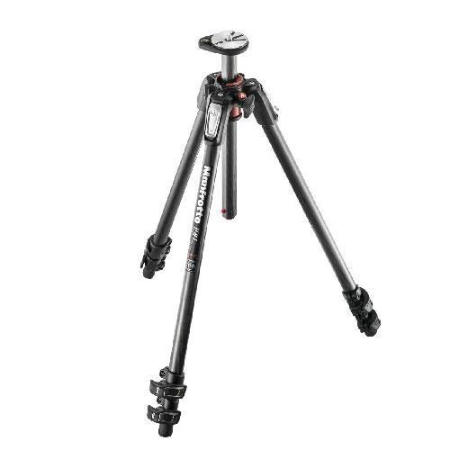 Manfrotto 190 Carbon Fibre 3-Section Tripod