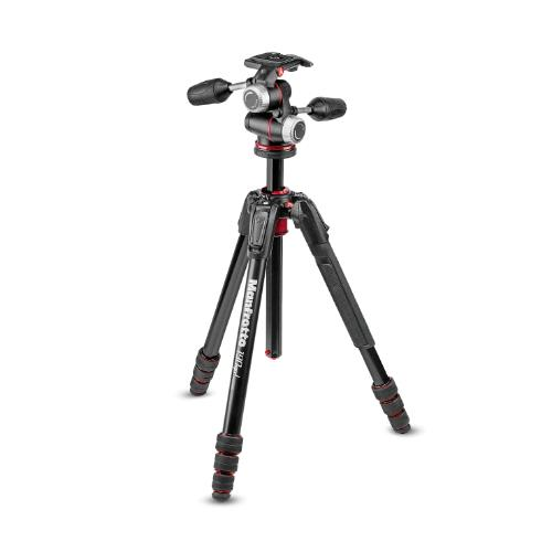 Manfrotto 190 Go! Aluminium M Series 4 Section Tripod with XPRO 3-way Head