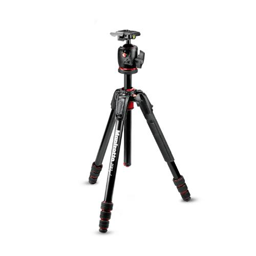 Manfrotto 190 Go! Aluminium M Series 4 Section Tripod Kit with XPRO Ball Head