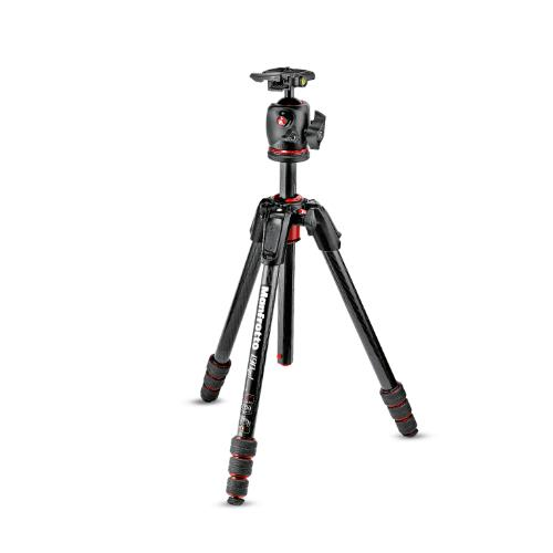Manfrotto 190 Go! Carbon Fibre M Series 4 Section Tripod with XPRO Ball Head