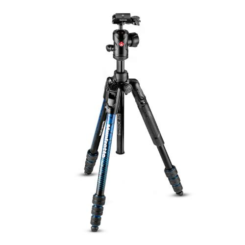 Manfrotto BeFree Advanced Aluminium Travel Tripod Twist Blue with Ball Head