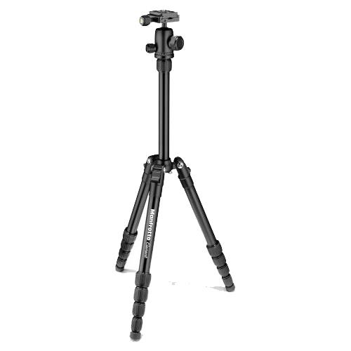 Manfrotto Element Traveller Tripod Small in Black with Ball Head