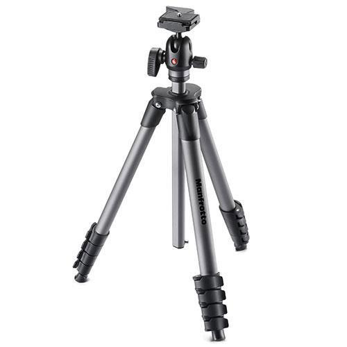 Manfrotto Compact Advanced Aluminium Tripod with Ball Head - Ex Display
