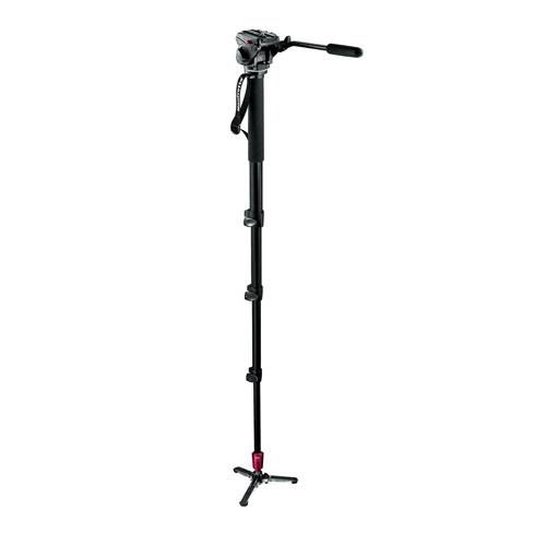 Manfrotto Aluminium Fluid Monopod with 500 Head