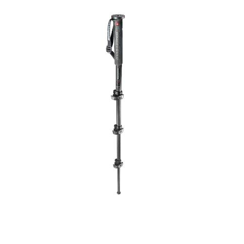 Manfrotto XPRO Photo Carbon Fibre 4 Section Monopod