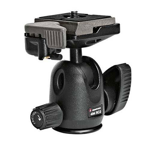 Manfrotto 494RC2 Mini Ball Head with Quick Release Plate - Ex Display