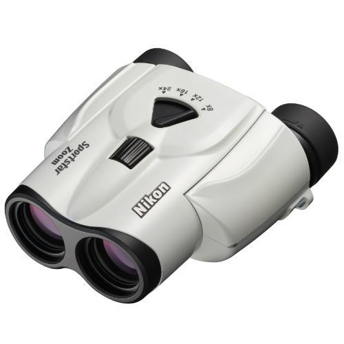 Nikon Sportstar Zoom 8-24x25 White Binocular