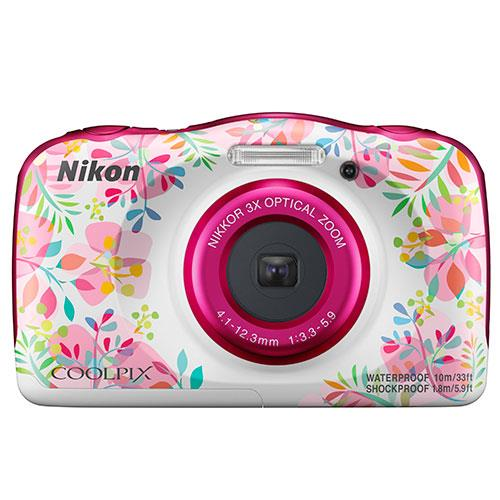 Nikon Coolpix W150 Camera in Flowers
