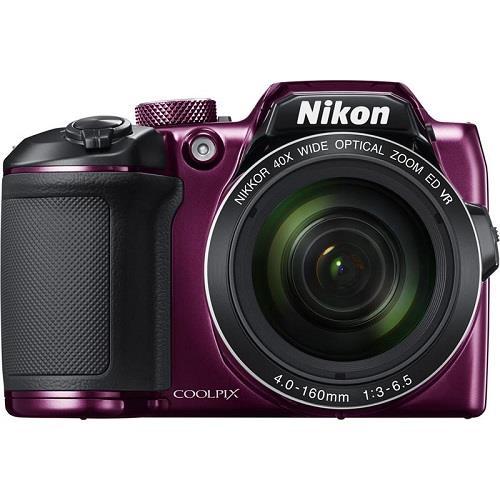 Nikon Coolpix B500 Digital Camera in Plum