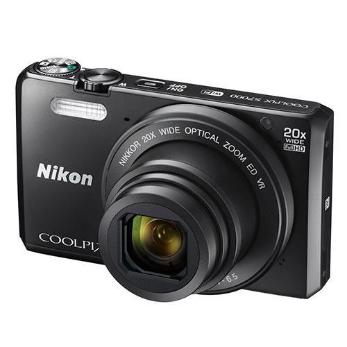 Nikon Coolpix S7000 Digital Camera in Black