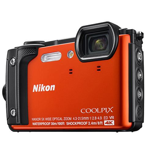 Nikon Coolpix W300 Camera in Orange