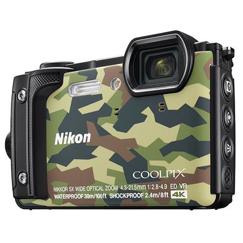 Nikon Coolpix W300 Camera in Camouflage