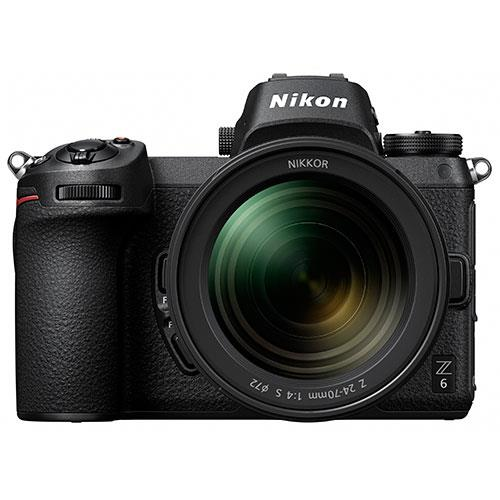 Nikon Z 6 Mirrorless Camera with Nikkor 24-70mm f/4 S Lens