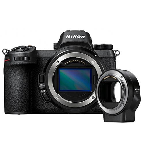 Nikon Z 7 Mirrorless Camera Body with FTZ Mount Adapter
