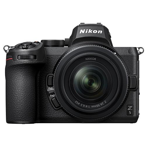 Nikon Z 5 Mirrorless Camera with Nikkor Z 24-50mm f/4-6.3 lens