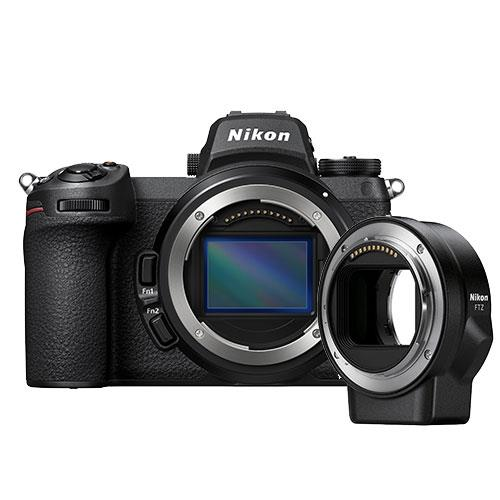 Nikon Z 6II Mirrorless Camera Body with FTZ Mount Adapter