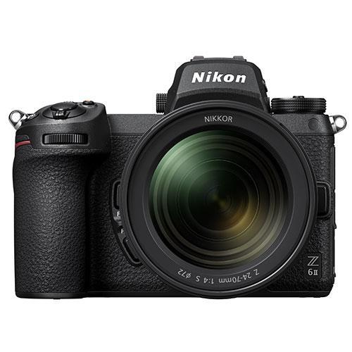 Nikon Z 6II Mirrorless Camera with Nikkor 24-70mm f/4 S Lens