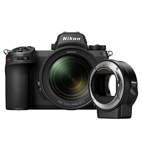 Nikon Z 6II Mirrorless Camera with Nikkor 24-70mm f/4 S Lens and FTZ Mount Adapter