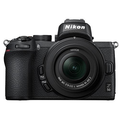 Nikon Z 50 Mirrorless Camera with DX 16-50mm VR Lens