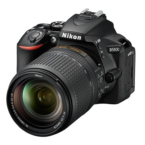 Nikon D5600 DSLR with 18-140mm f/3.5-5.6 G ED VR Lens
