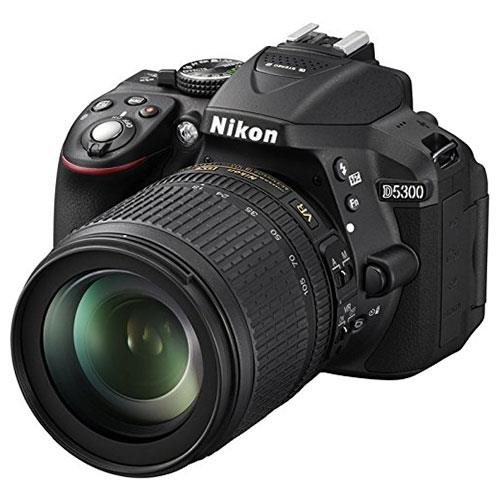 Nikon D5300 Digital SLR in Black with 18-105mm VR Lens