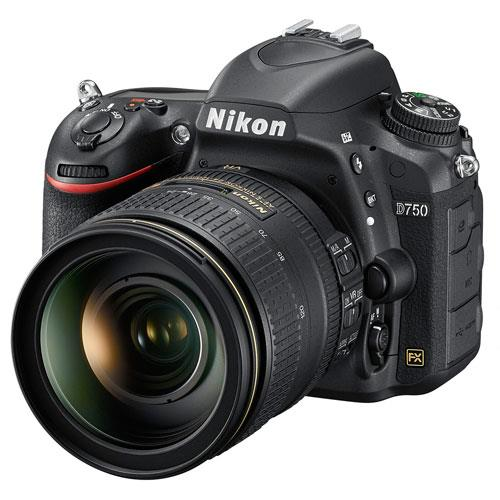 Nikon D750 Digital SLR with 24-120mm Lens