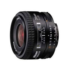 Nikon AF 35mm f/2D Nikkor Lens