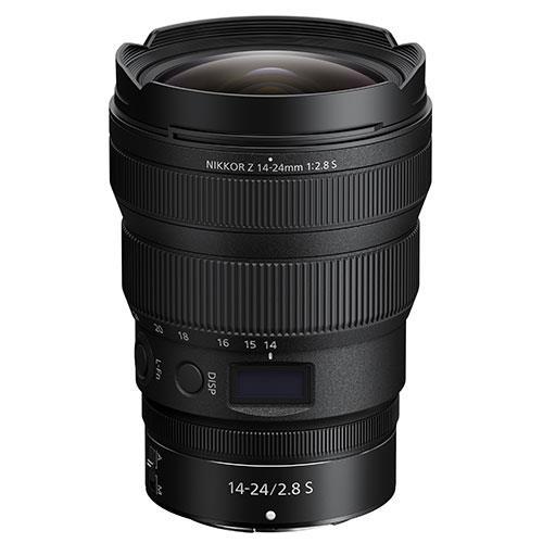 Nikon Nikkor Z 14-24mm f2.8 S Lens