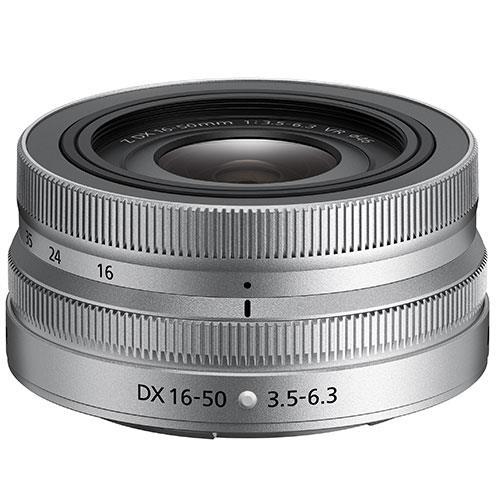 Nikon Nikkor Z DX 16-50mm f/3.5-6.3 VR Silver Edition Lens