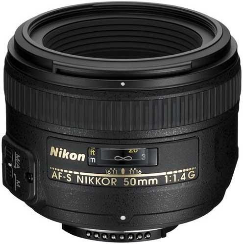 Nikon AF-S 50mm f/1.4G Lens