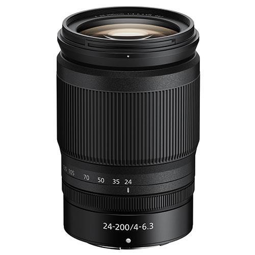 Nikon Nikkor Z 24-200m f/4-6.3VR Lens